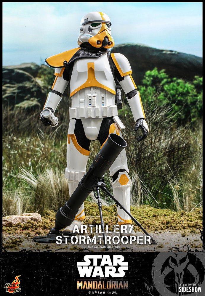 Artillery Stormtrooper 1/6 Star Wars The Mandalorian Actionfigur 30cm Hot Toys