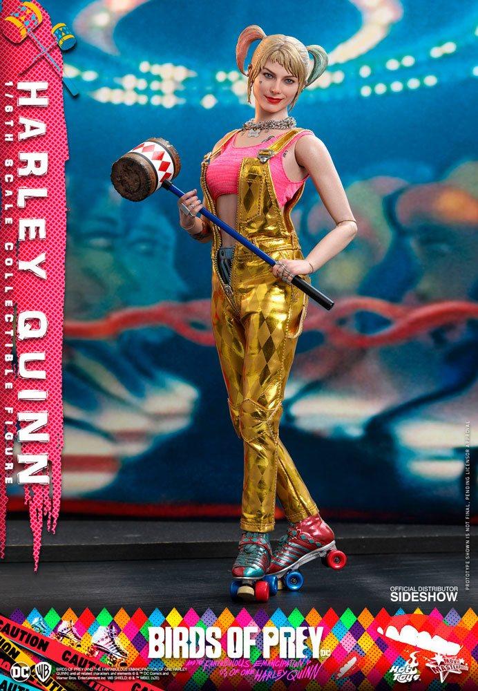 Harley Quinn 1/6 Birds of Prey DC Movie Masterpiece 29cm Actionfigur Hot Toys
