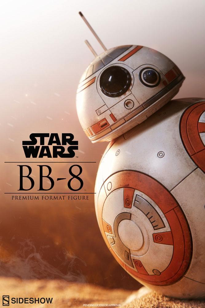 BB-8 Android 1/4 Premium Format Statue Star Wars Episode VII Sideshow