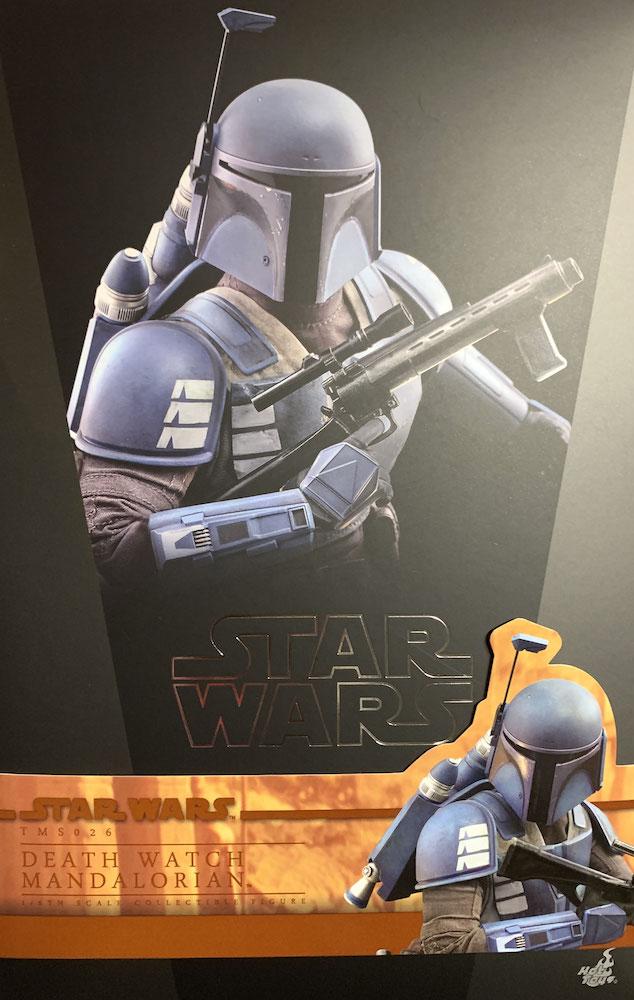 Death Watch Mandalorian 1/6 Star Wars The Mandalorian Actionfigur 30cm Hot Toys