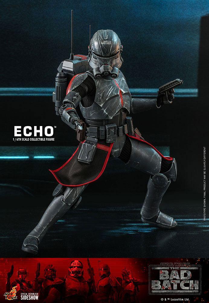 Echo 1/6 Star Wars The Bad Batch Actionfigur 29cm Hot Toys