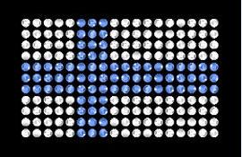 Swarovski Suomen Lippu Hotfix crystal