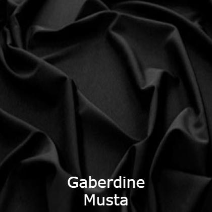Gaberdine souvereign musta