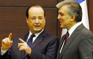 1月26日トルコ大統領と会談