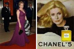 左:毎年カンヌ映画祭のメインゲストとして赤じゅうたんを踏む