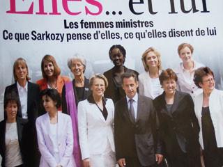 ※写真は週刊 Le Figaro 誌から抜粋