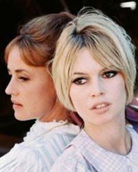 「Viva Maria」(1965年)ブリジッド・バルドーと美と智の競演。フランスのミューズだったB.B.は、現在みる影もなく太ってしまっている。