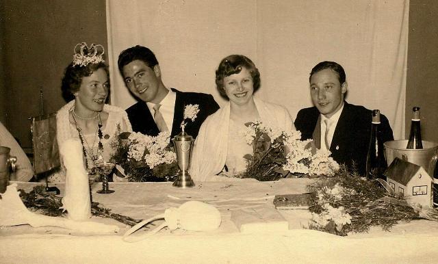 Königspaar 1956 und Königspaar 1957