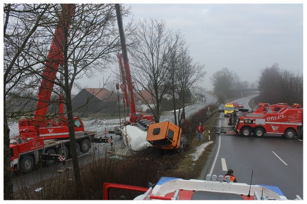 Verkehrsunfall B8