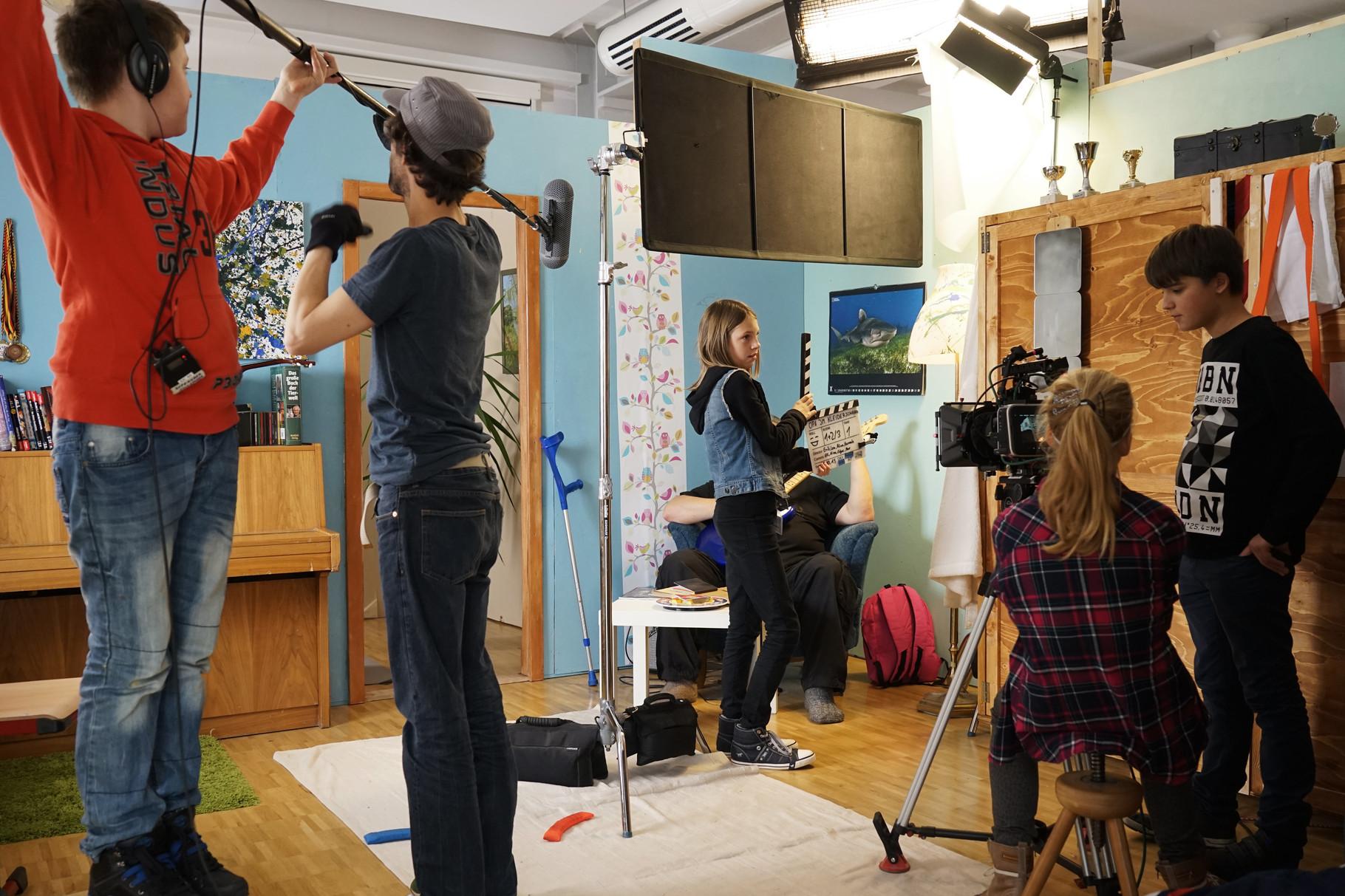 Produktionsworkshop Prenzlau 2015. Foto: Antje Materna