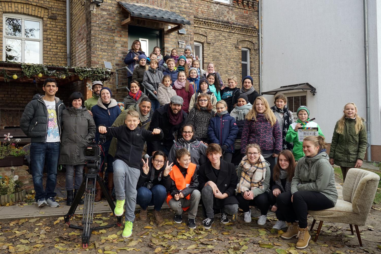 Produktionsworkshop Prenzlau 2016. Foto: Antje Materna
