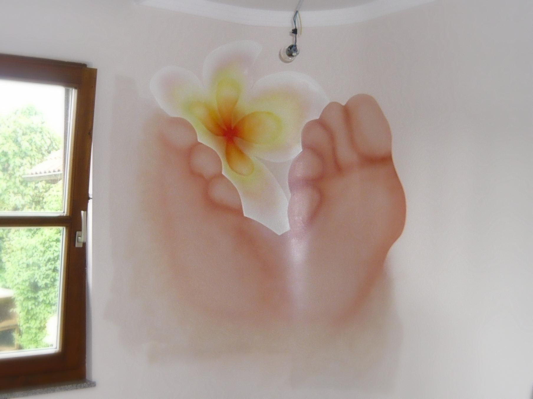 Wandtatoo nach eigenen Vorlagen für Ihre Geschäftsräume - Malerei Wagner Persenbeug