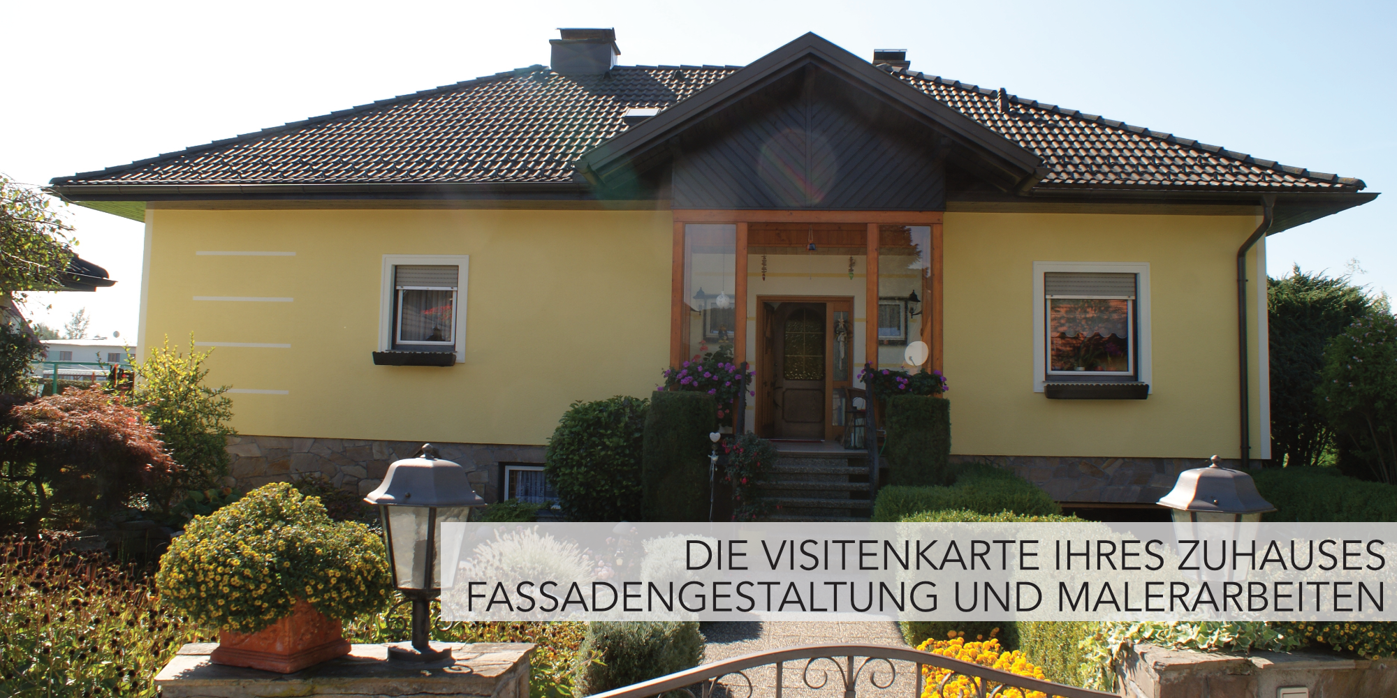 Fassadengestaltung, Wandmalerei, Schablonen Arbeiten -  Malerei Wagner Persenbeug