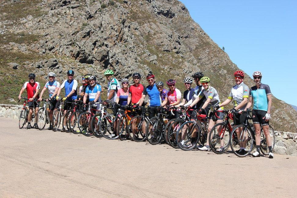 Equatours Rennradtouren in den Weinbergen von Stellenbosch