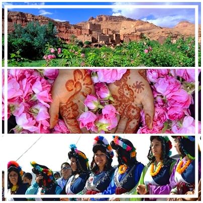 Valle de las Rosas y Festival de la Rosa Kelaat M´Gouna.