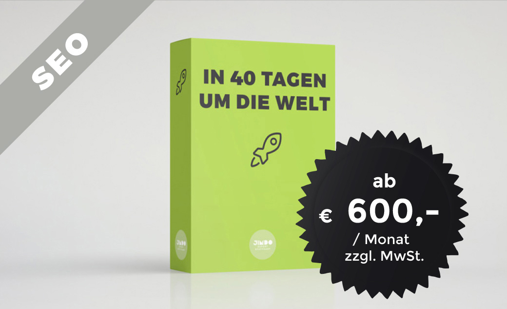 SEO Paket In 40 Tagen um die Welt