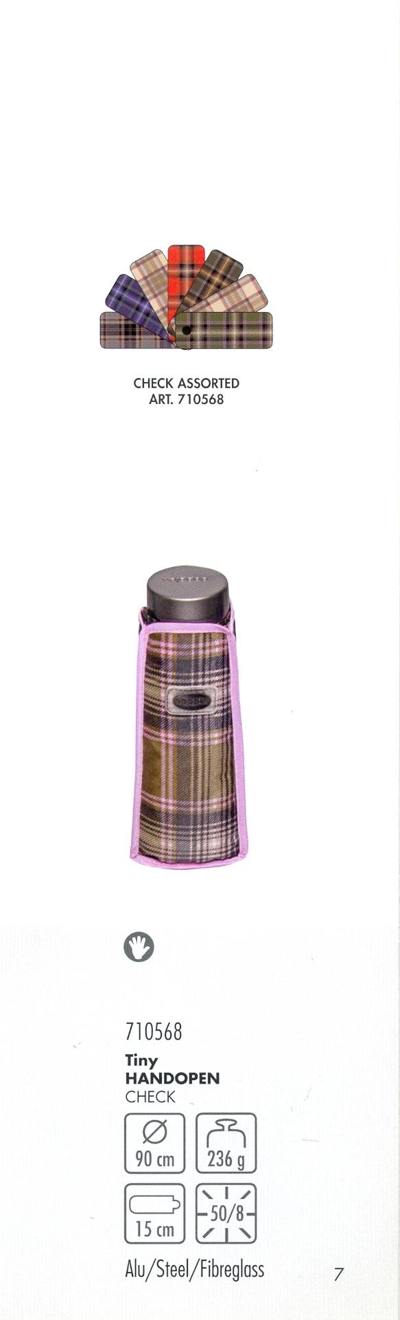 710568 tiny manuel de seulement 15 cm de long dessins écossais assortis