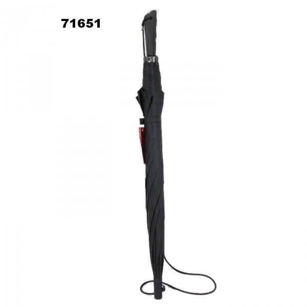 71651 bandoulière automatique tissu noir
