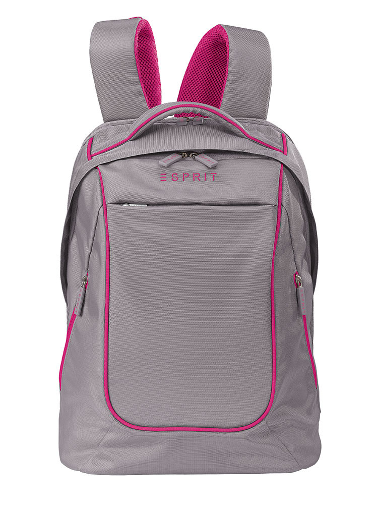 12735 Backpack taupe berry