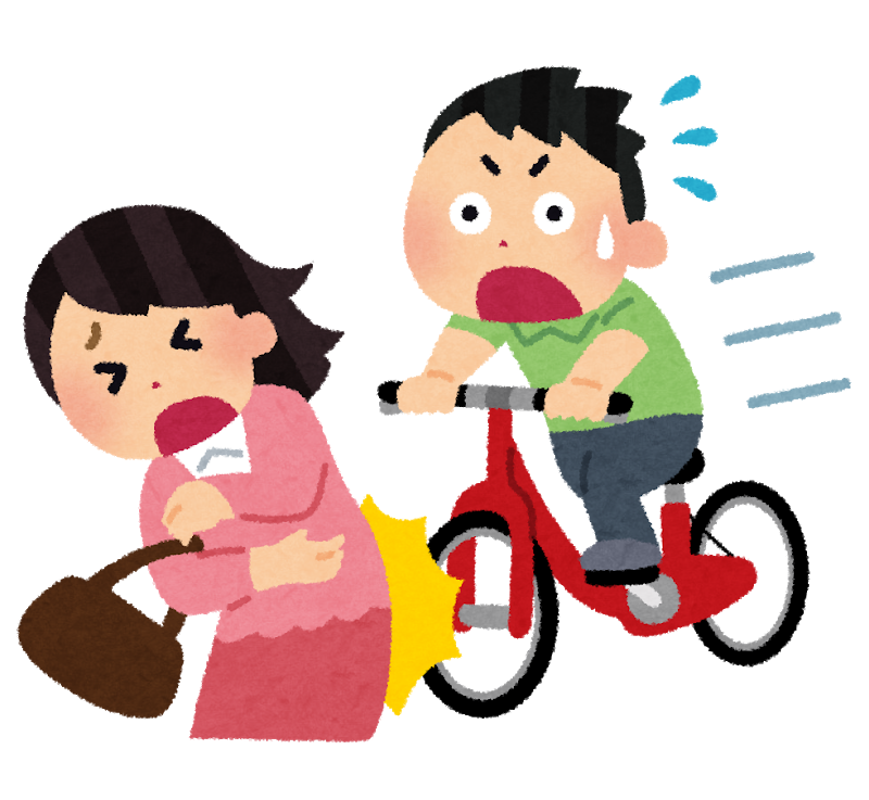 奈良県では自転車賠償保険加入が必須です。