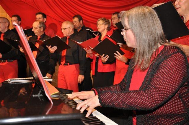 Unsere Pianistin Andrea