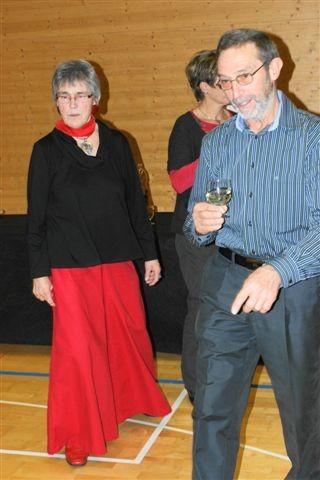 Unsere Dirigentin Karin Bonderer