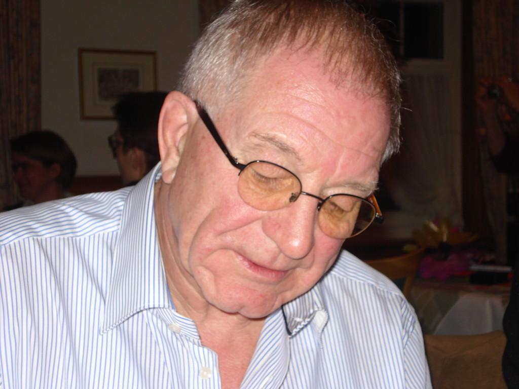 Vize-Präsident Fredy Lüthy