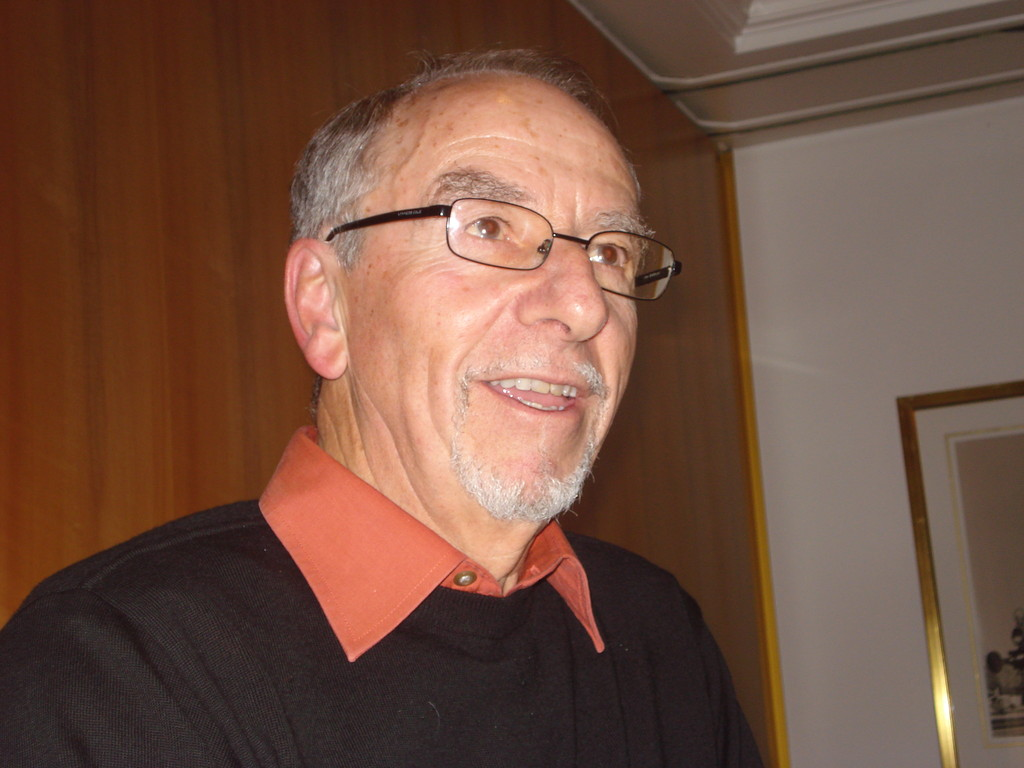 Präsident Hansruedi Studer