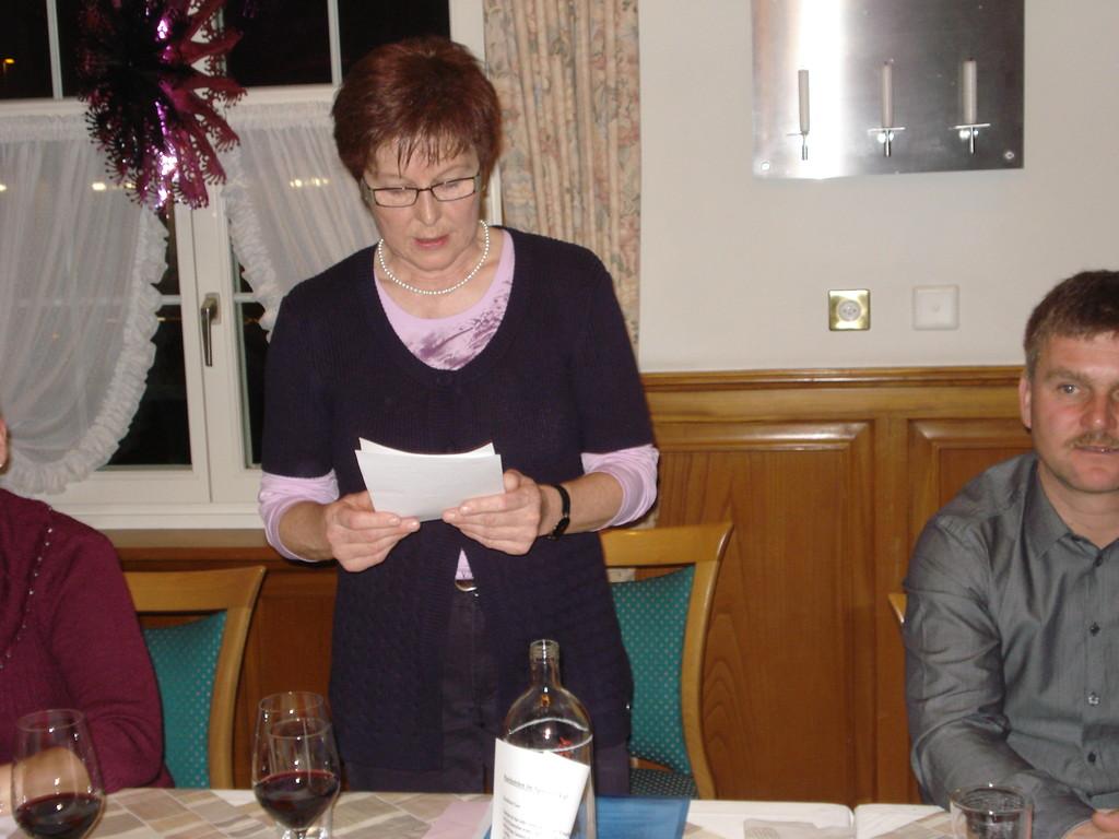 Martha Betschart leitet gekonnt durch die Versammlung