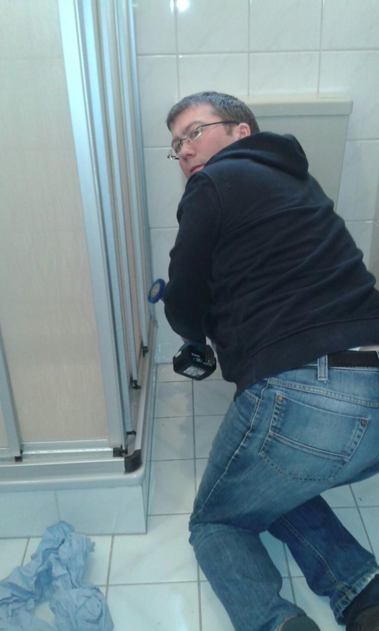 Der Finanzexperte sucht Abwechslung im Bad. (Jens Rüpke)