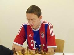 Uli Weller im passenden Trikot für die Jugendauswahl Bayerns