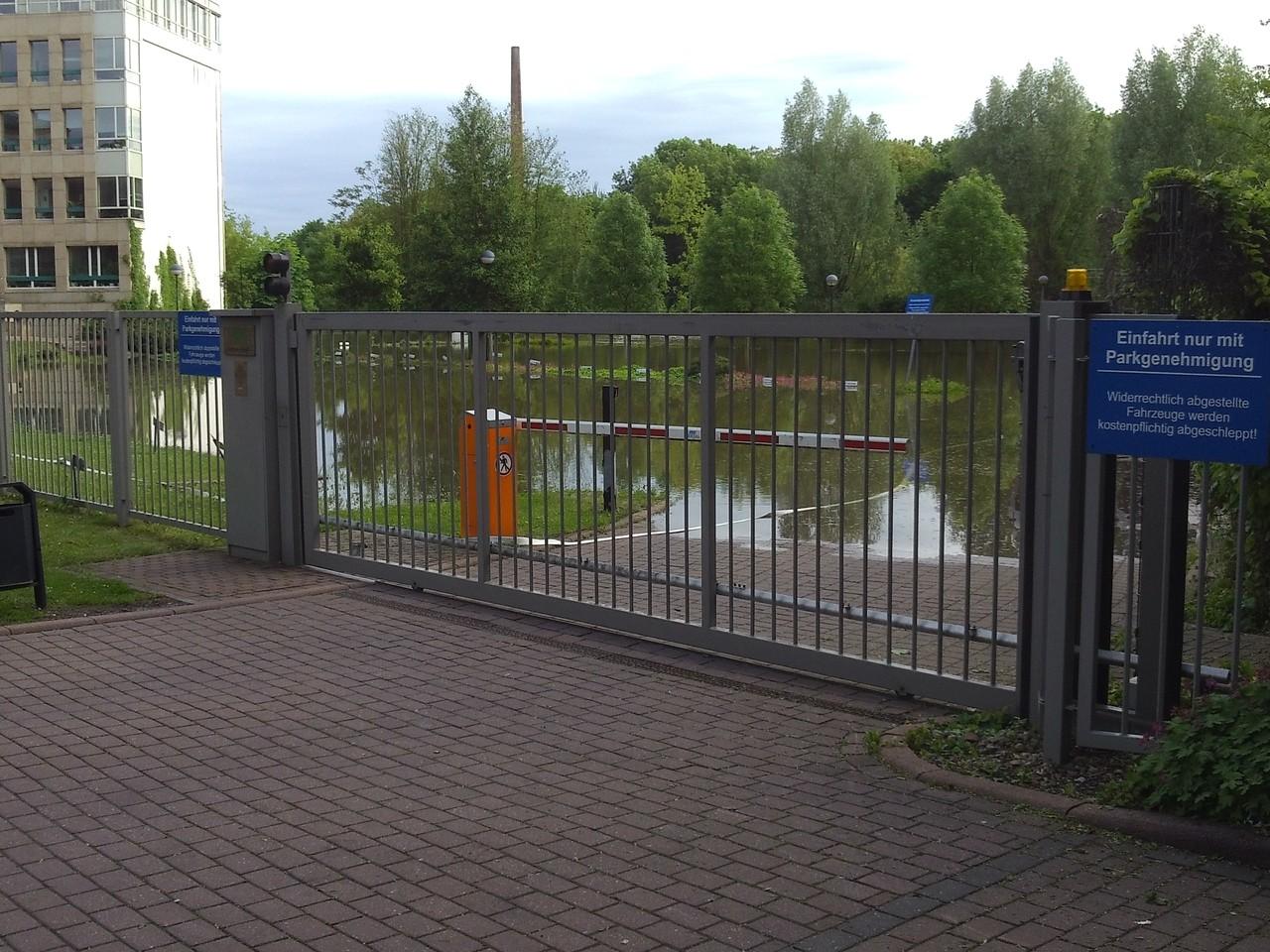 Parkplatz der AOK