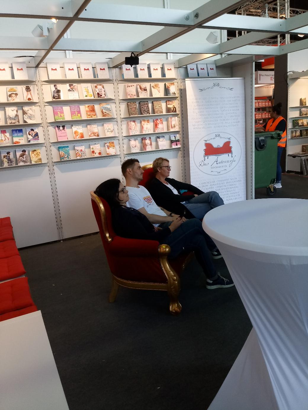 Carin Müller, Ralf Wolfstädter und Sabine Landgräber