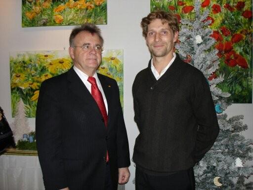 Hr. Landeshauptmann Hans Niessl & Egger M.