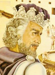 Le roi Léodagan de Carmélide.