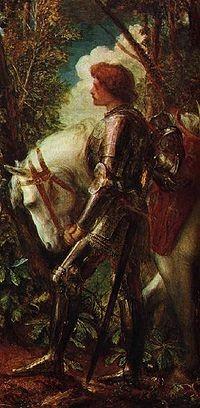 Le chevalier Galaad.