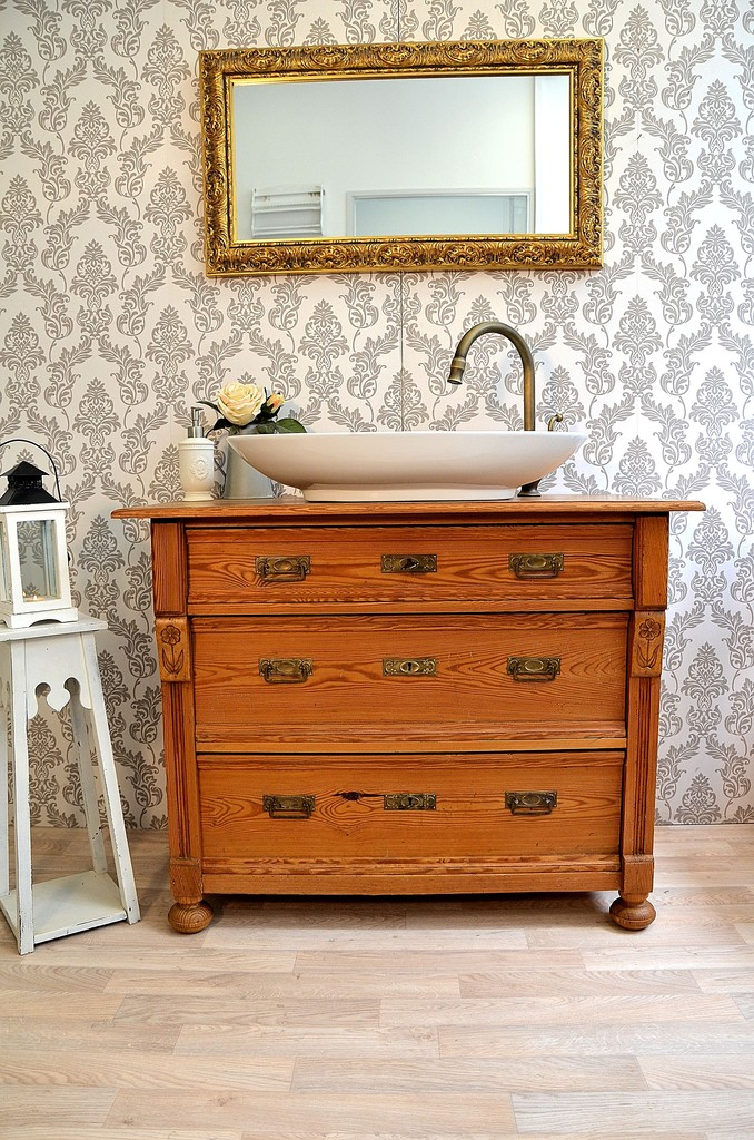 waschtische aus naturholz land liebe badm bel landhaus. Black Bedroom Furniture Sets. Home Design Ideas