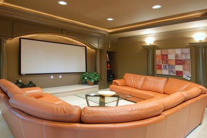 Wohnzimmer Kino Heim Zuhause