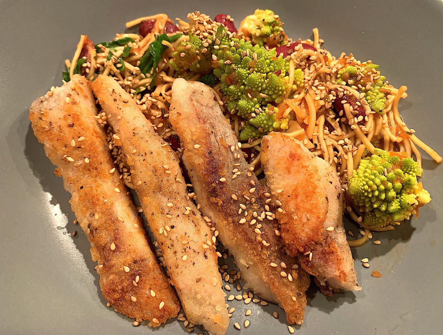 Rezept - Asia-Karpfen mit Romanesco