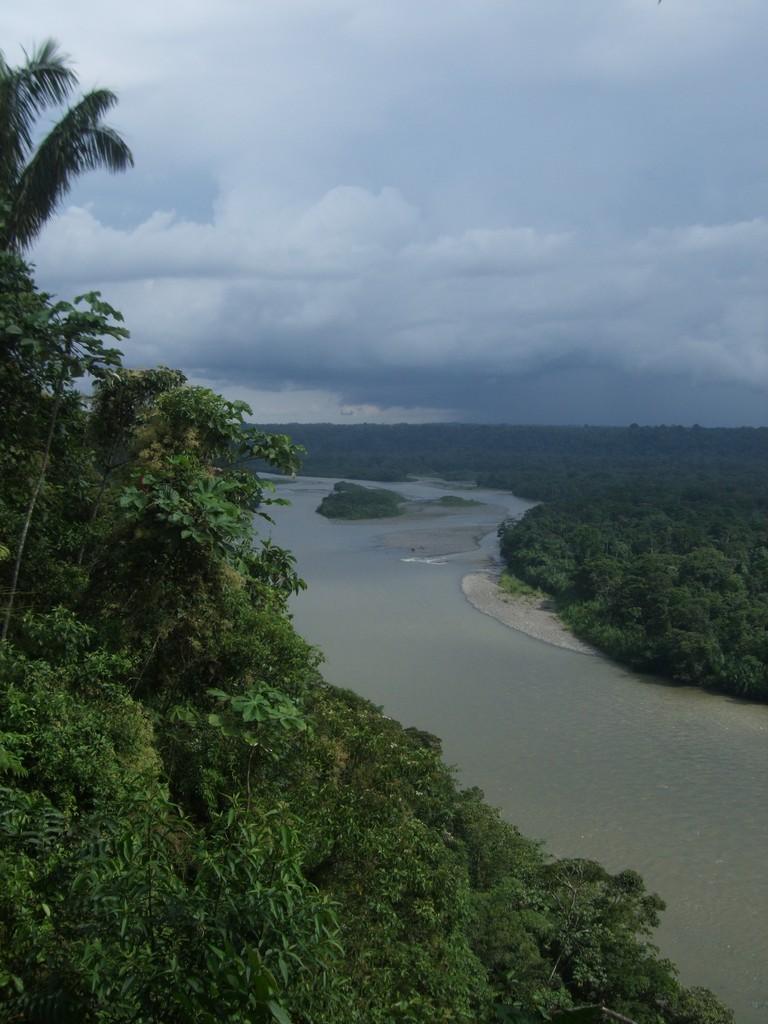 Un des bras du fleuve amazone: Le Pastaza!