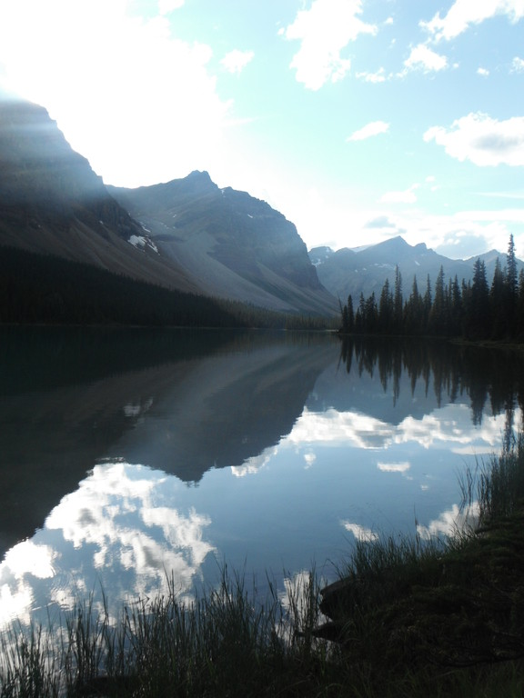 Et le lac du retour!