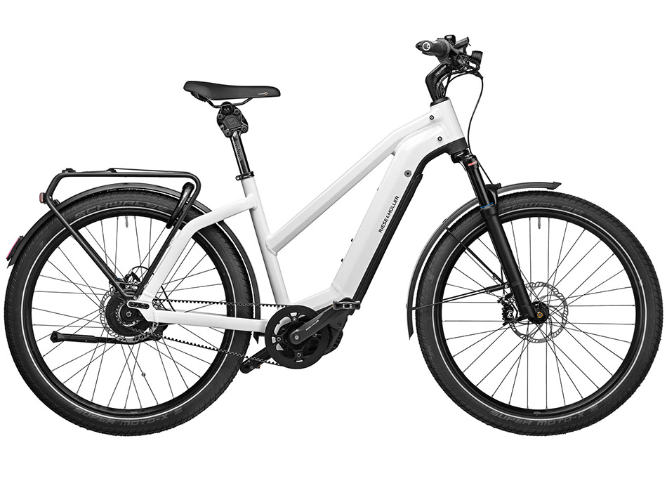 "2021 Riese & Muller Charger3 GT Mixte Vario 27.5"" Ceramic White"
