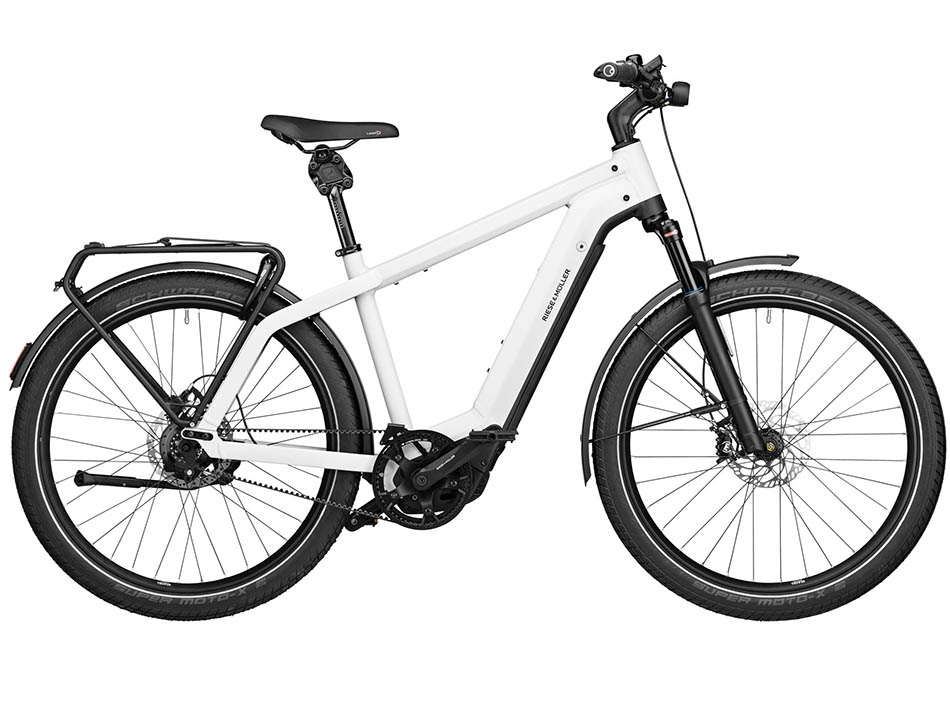 "2021 Riese & Muller Charger3 GT rohloff 27.5"" Ceramic White"