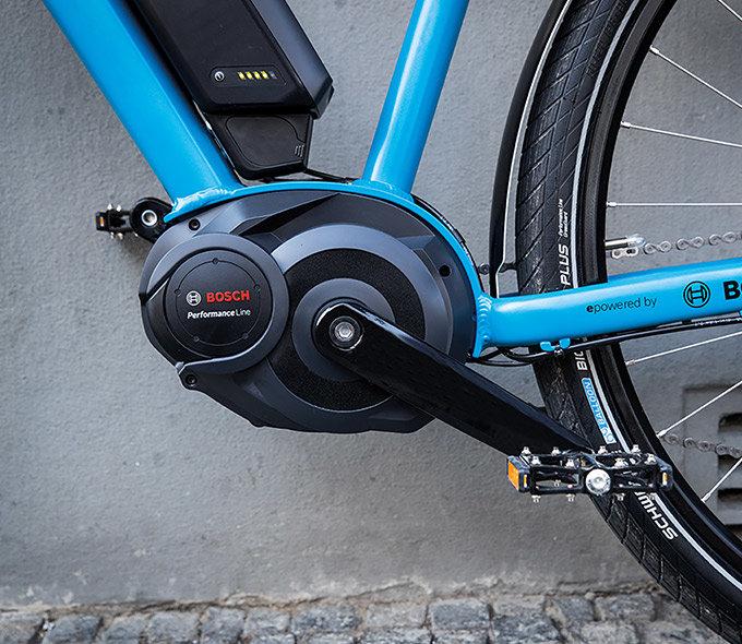 електрическо колело, мотор, Bosch