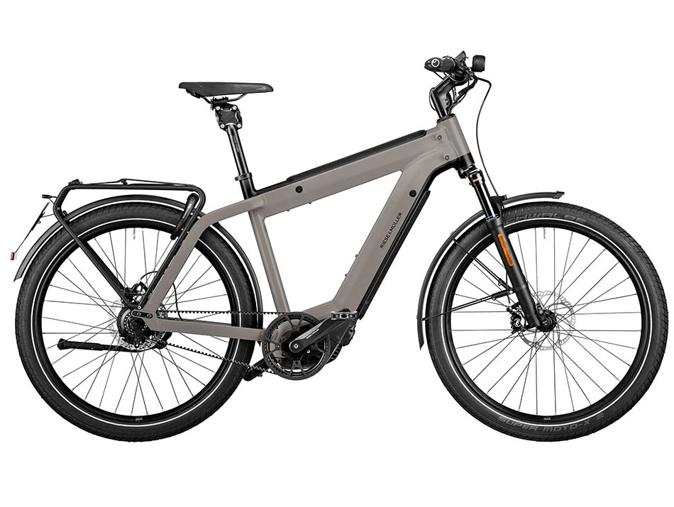 """2021 Riese & Muller Supercharger2 GT Rohloff HS 27.5"""" Grey"""
