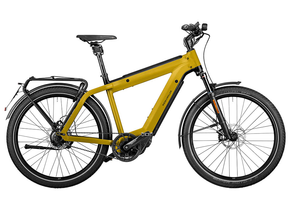 """2021 Riese & Muller Supercharger2 GT Rohloff HS 27.5"""" Curry"""