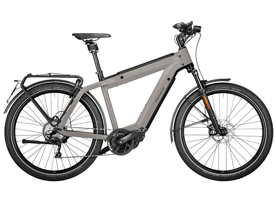 """2021 Riese & Muller Supercharger2 GT Touring HS 27.5"""" Grey"""