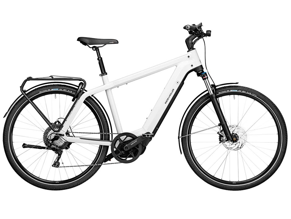 """2020 Riese & Muller Charger Touring 28"""" Ceramic White"""