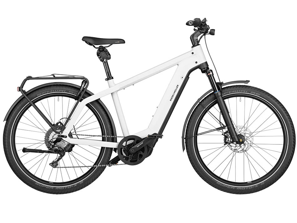 """2021 Riese & Muller Charger GT touring 27.5"""" Ceramix White"""
