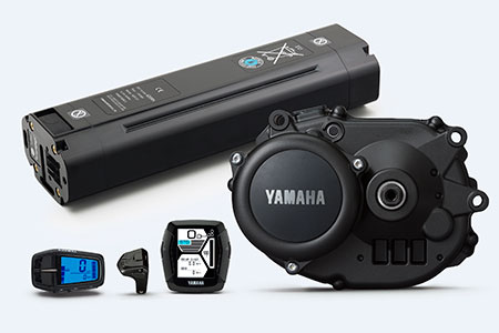 Yamaha PW TE, Intube Battery, Dispay A, Display C